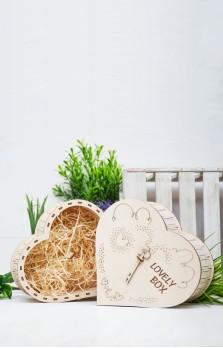Большое подарочное сердце «Lovely box»
